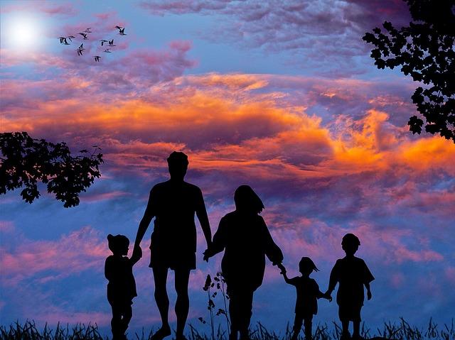 rodinná procházka
