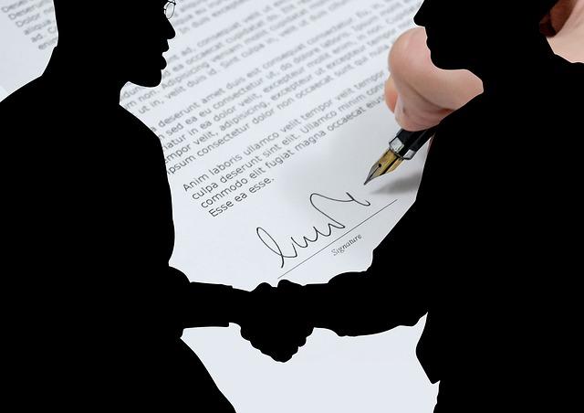 podepsání půjčky