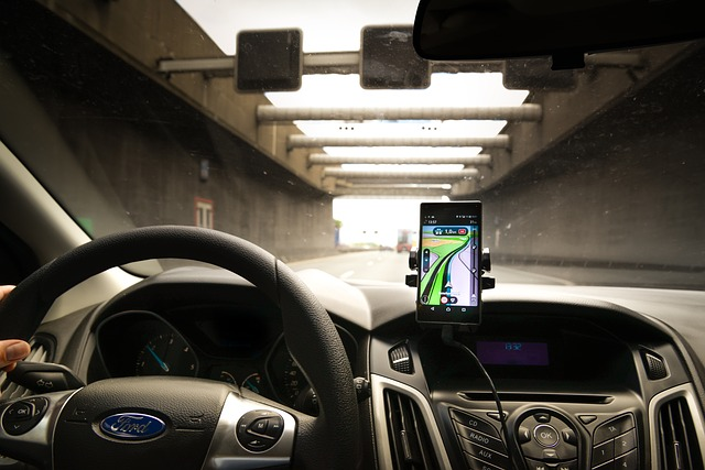mobil jako navigace