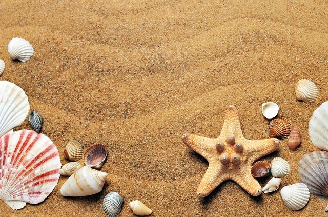 mořský písek