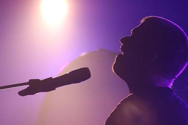 zpěváci na pódiích