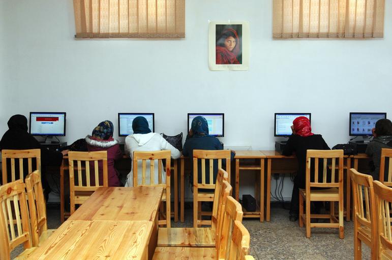 počítače Afghánistán