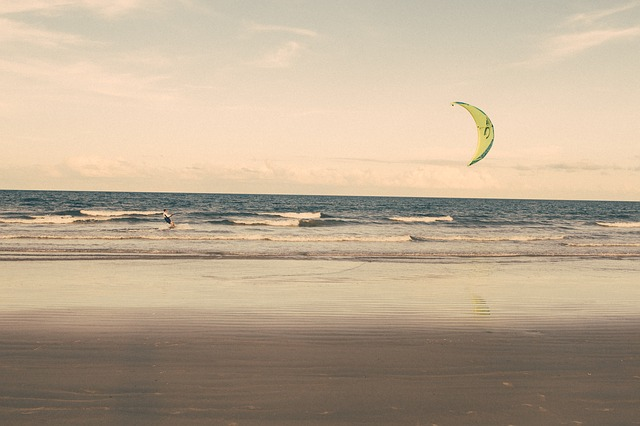 Kiting a surfování
